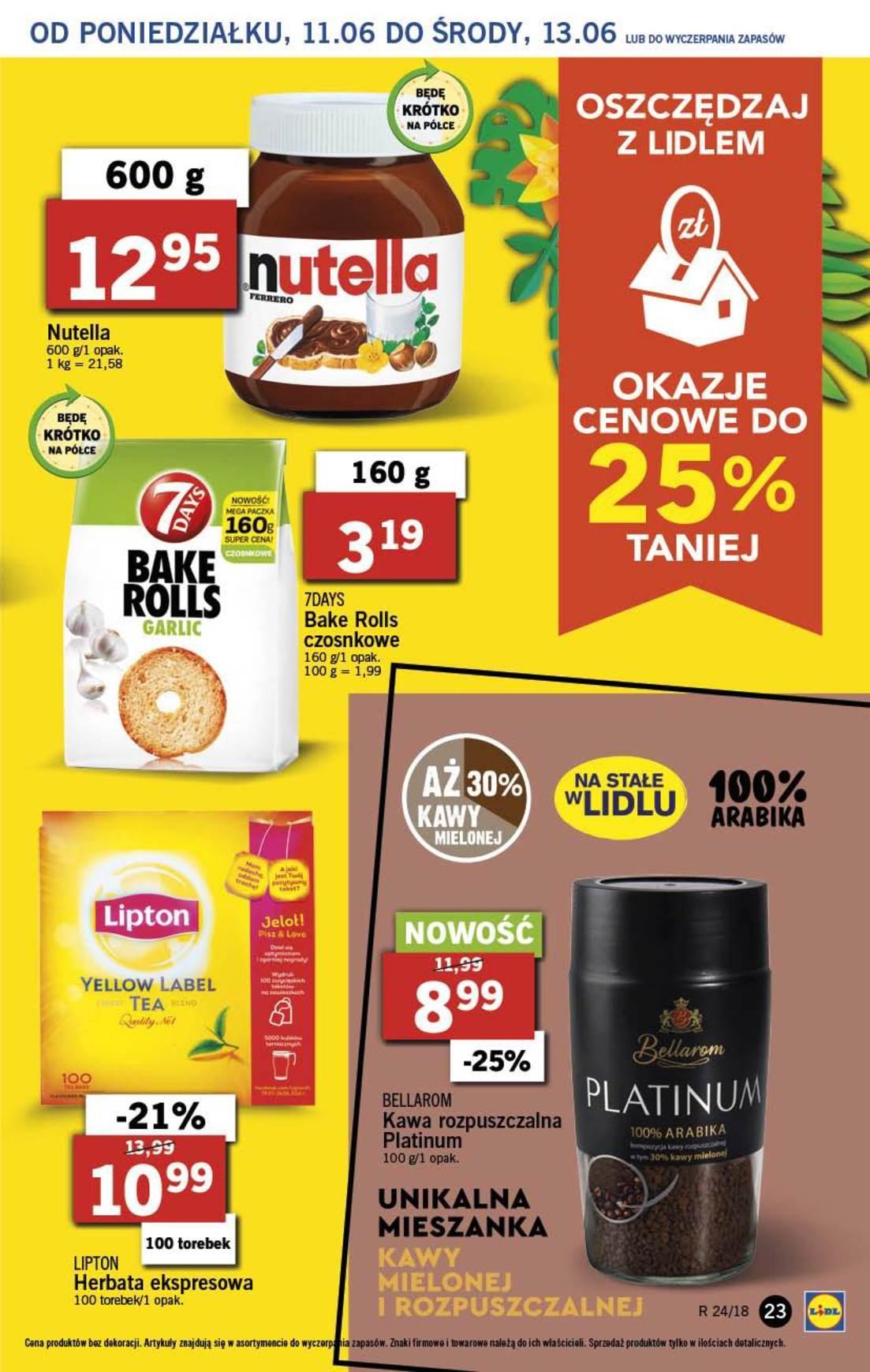 Gazetka promocyjna Lidl do 13/06/2018 str.22