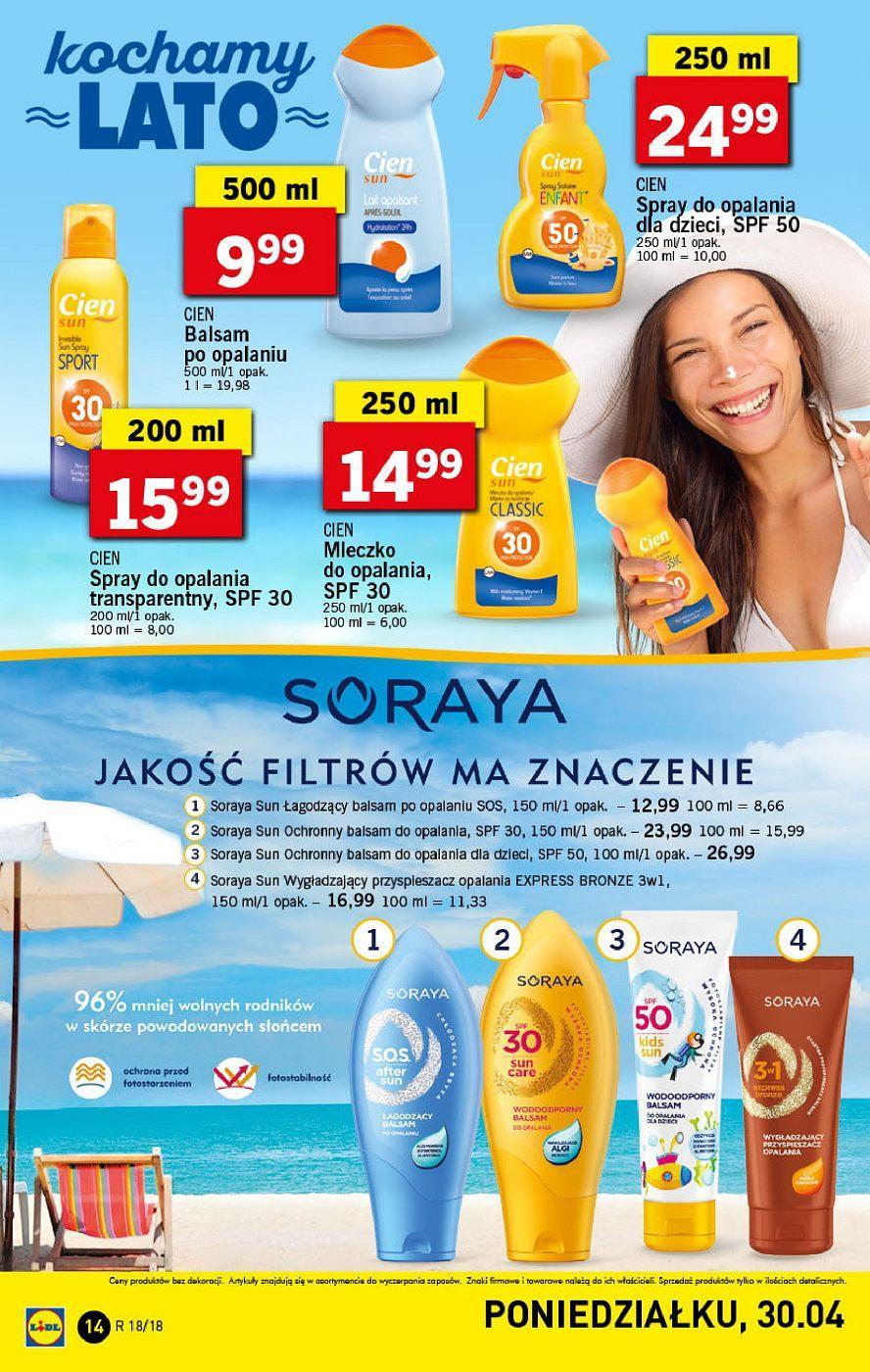 Gazetka promocyjna Lidl do 06/05/2018 str.13