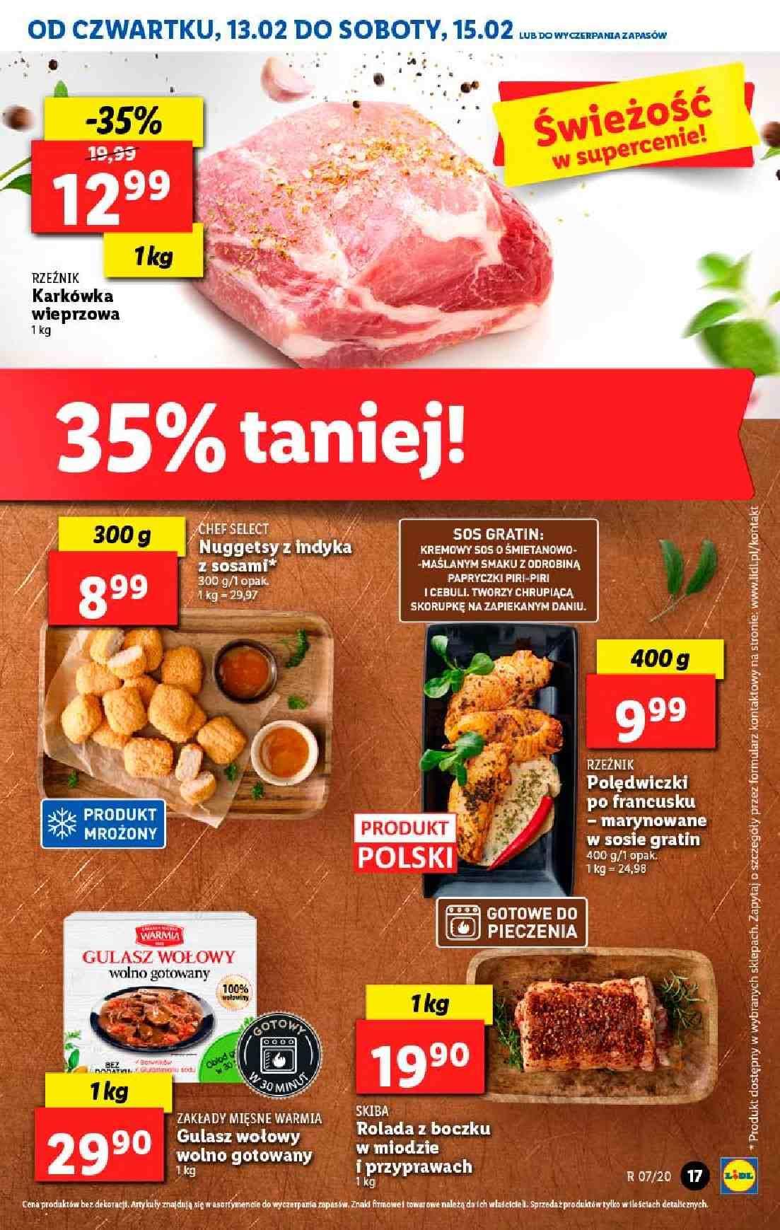 Gazetka promocyjna Lidl do 15/02/2020 str.17