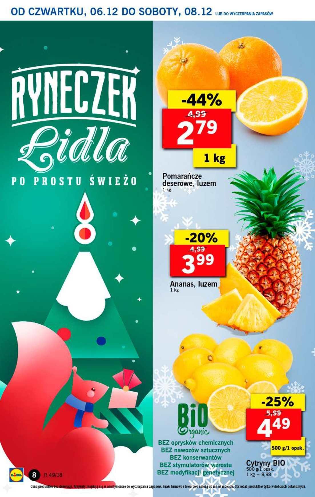 Gazetka promocyjna Lidl do 08/12/2018 str.8