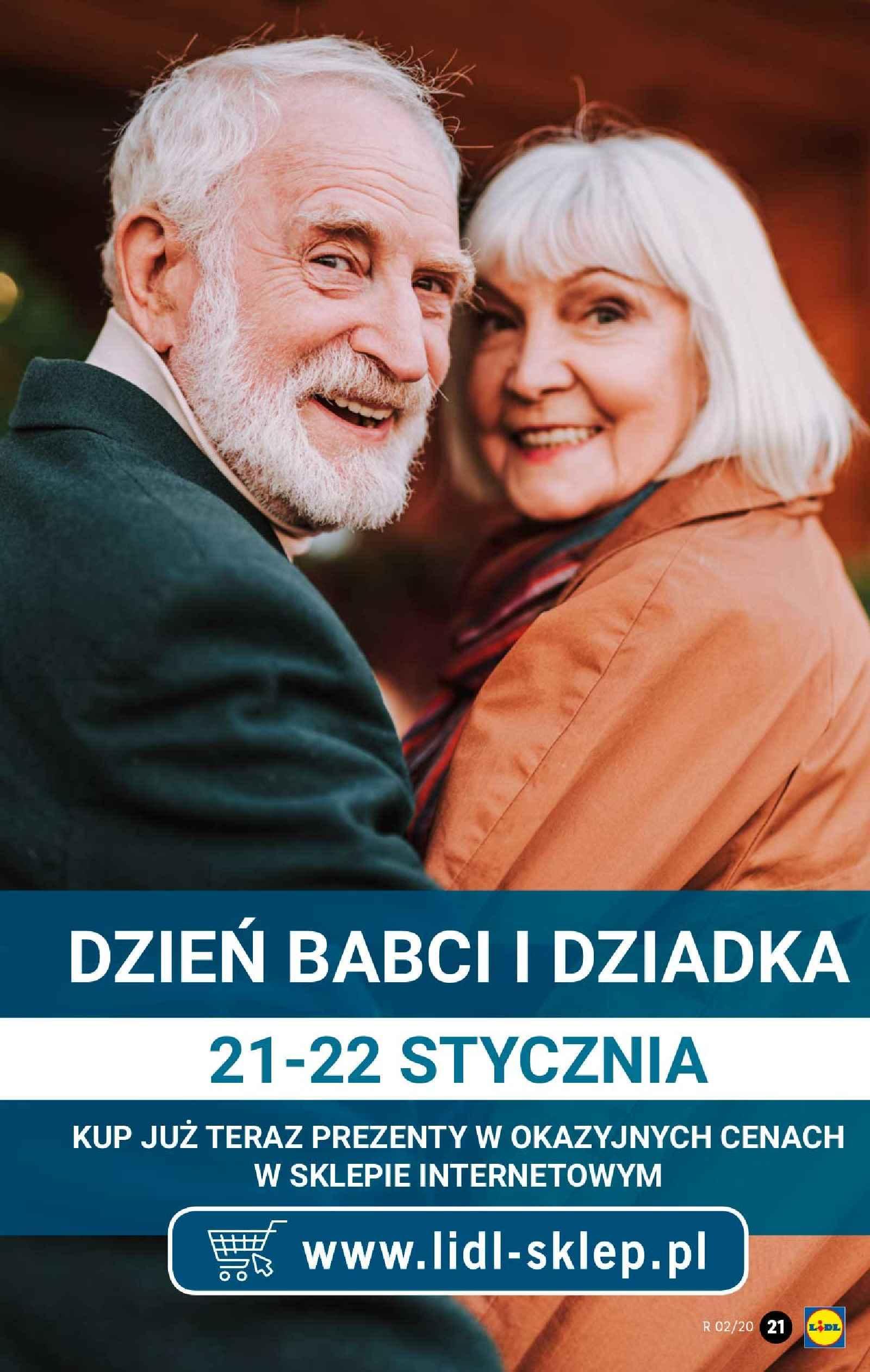 Gazetka promocyjna Lidl do 11/01/2020 str.21
