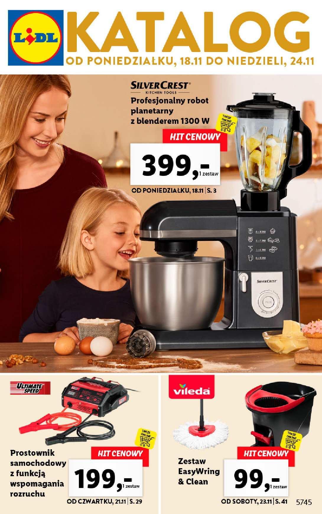 Gazetka promocyjna Lidl do 24/11/2019 str.1