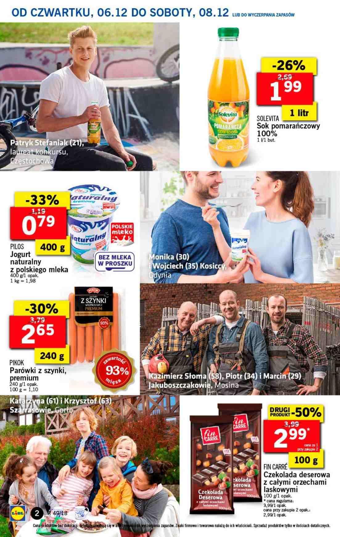 Gazetka promocyjna Lidl do 08/12/2018 str.2