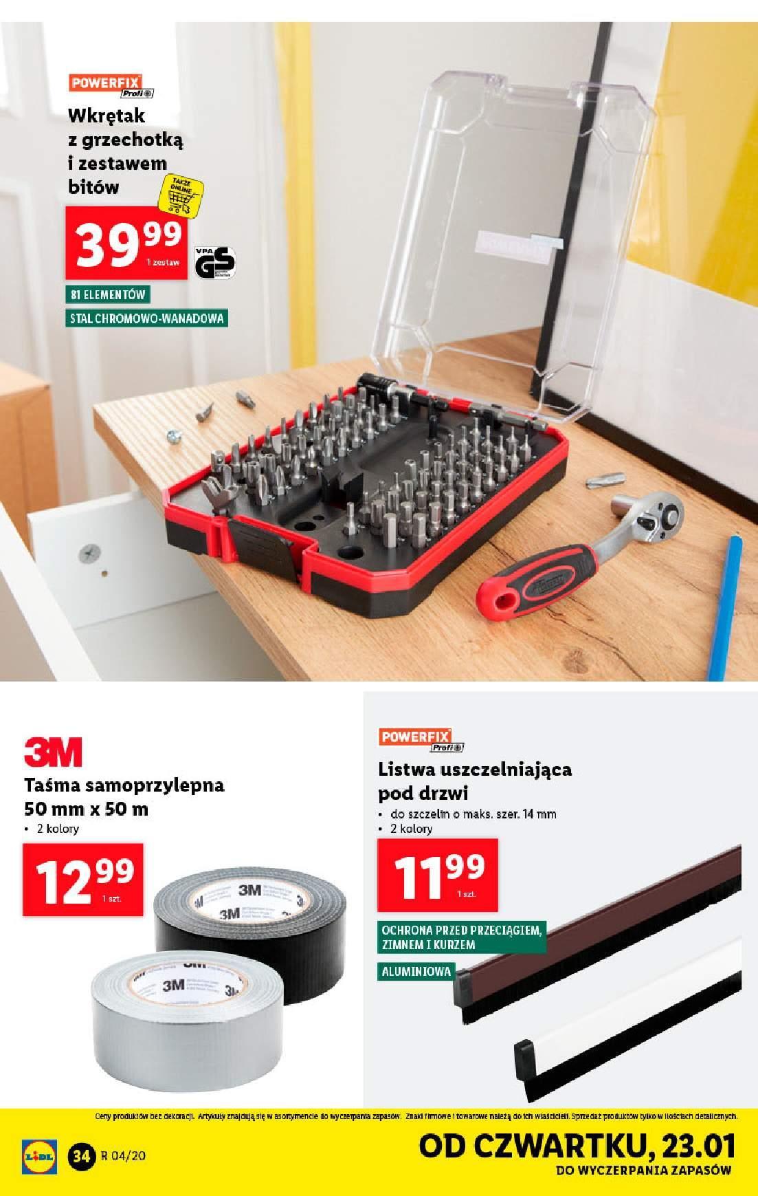 Gazetka promocyjna Lidl do 26/01/2020 str.34