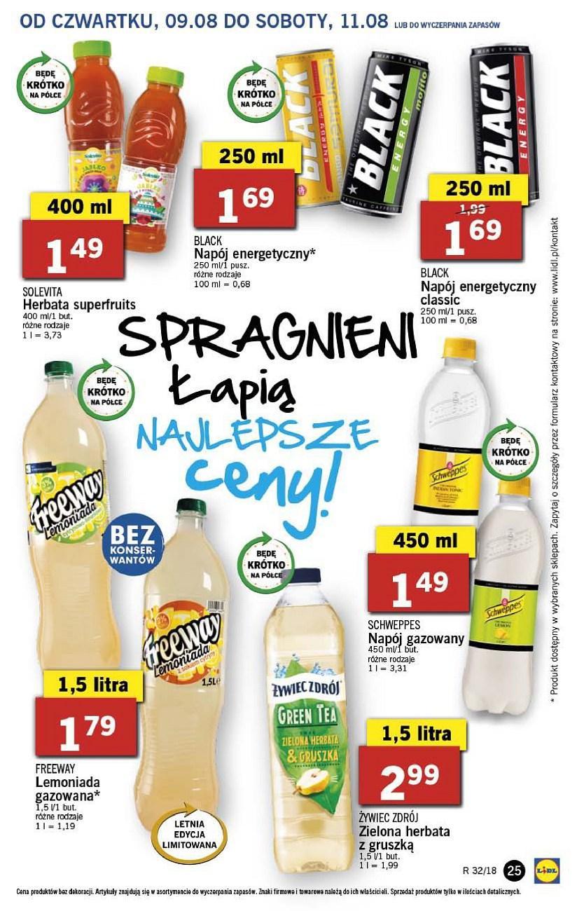 Gazetka promocyjna Lidl do 11/08/2018 str.25