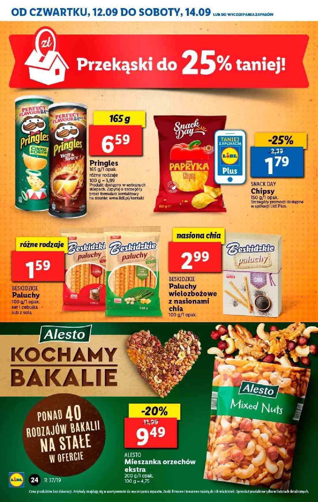 Gazetka promocyjna Lidl do 14/09/2019 str.23