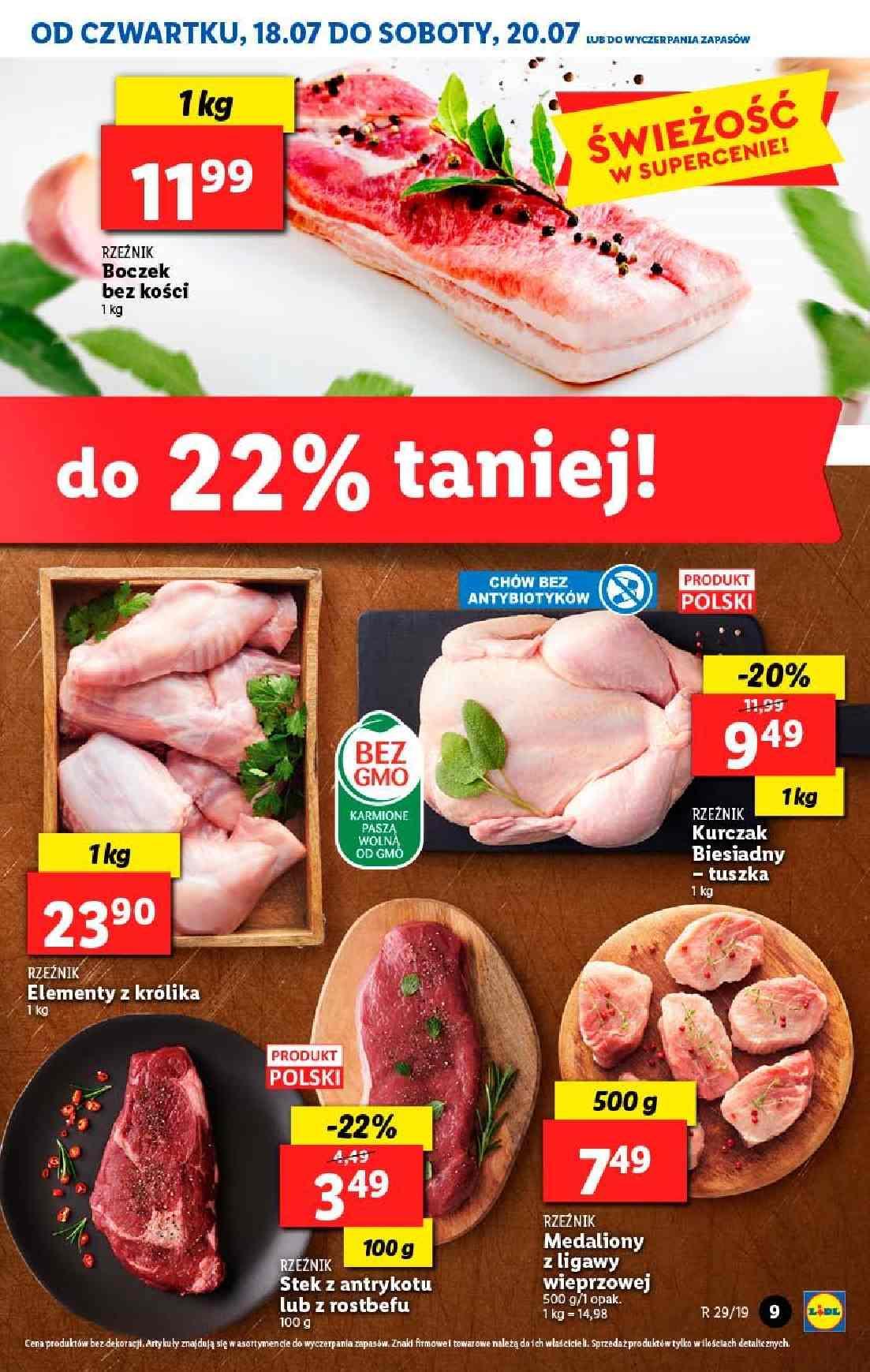Gazetka promocyjna Lidl do 20/07/2019 str.9