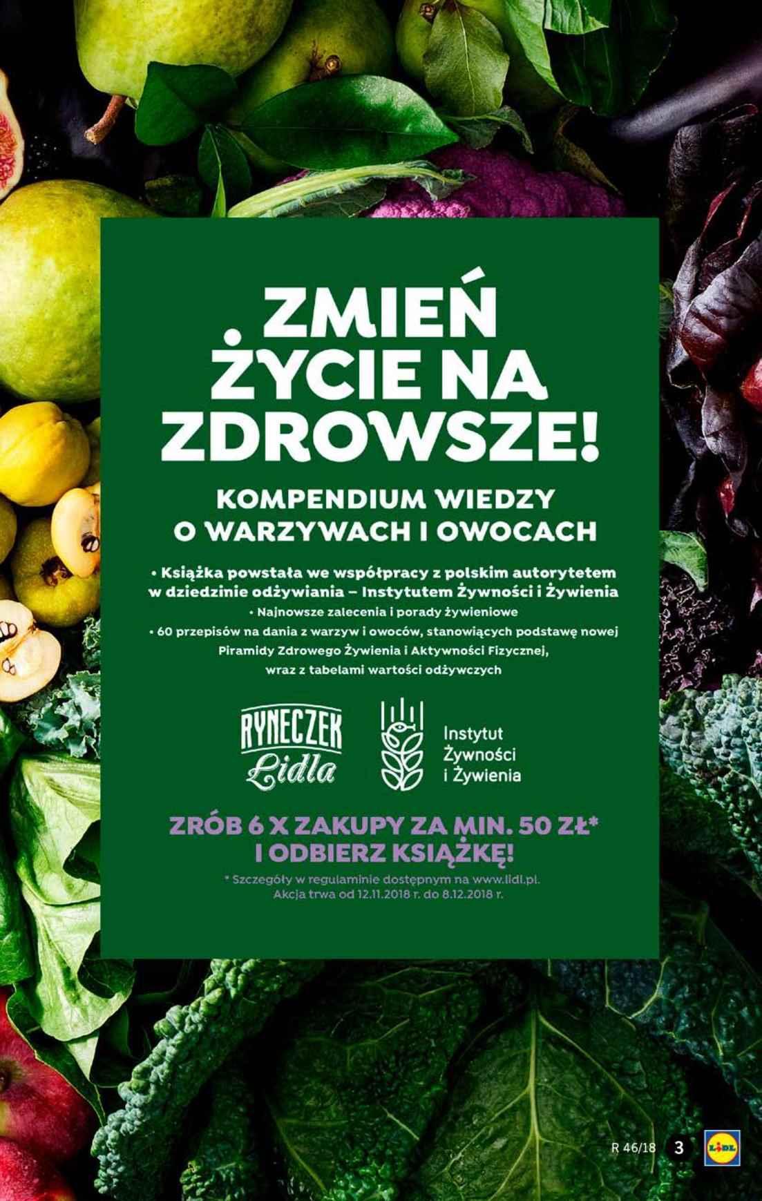 Gazetka promocyjna Lidl do 17/11/2018 str.3