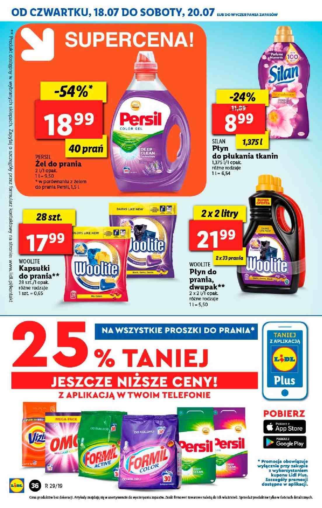 Gazetka promocyjna Lidl do 20/07/2019 str.36