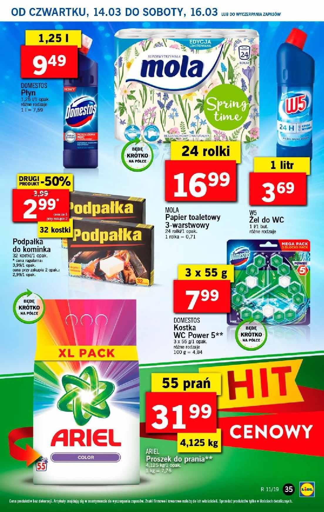Gazetka promocyjna Lidl do 17/03/2019 str.35