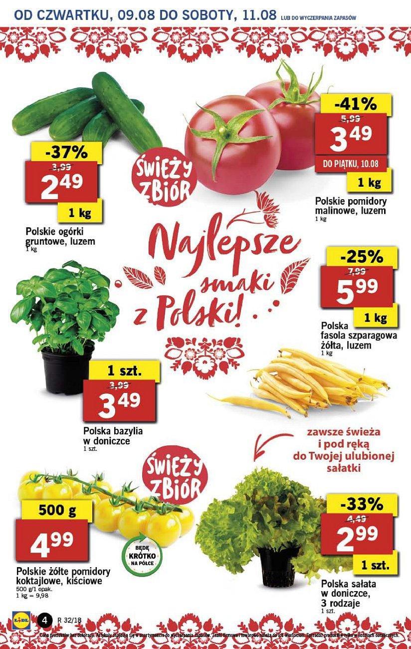 Gazetka promocyjna Lidl do 11/08/2018 str.4