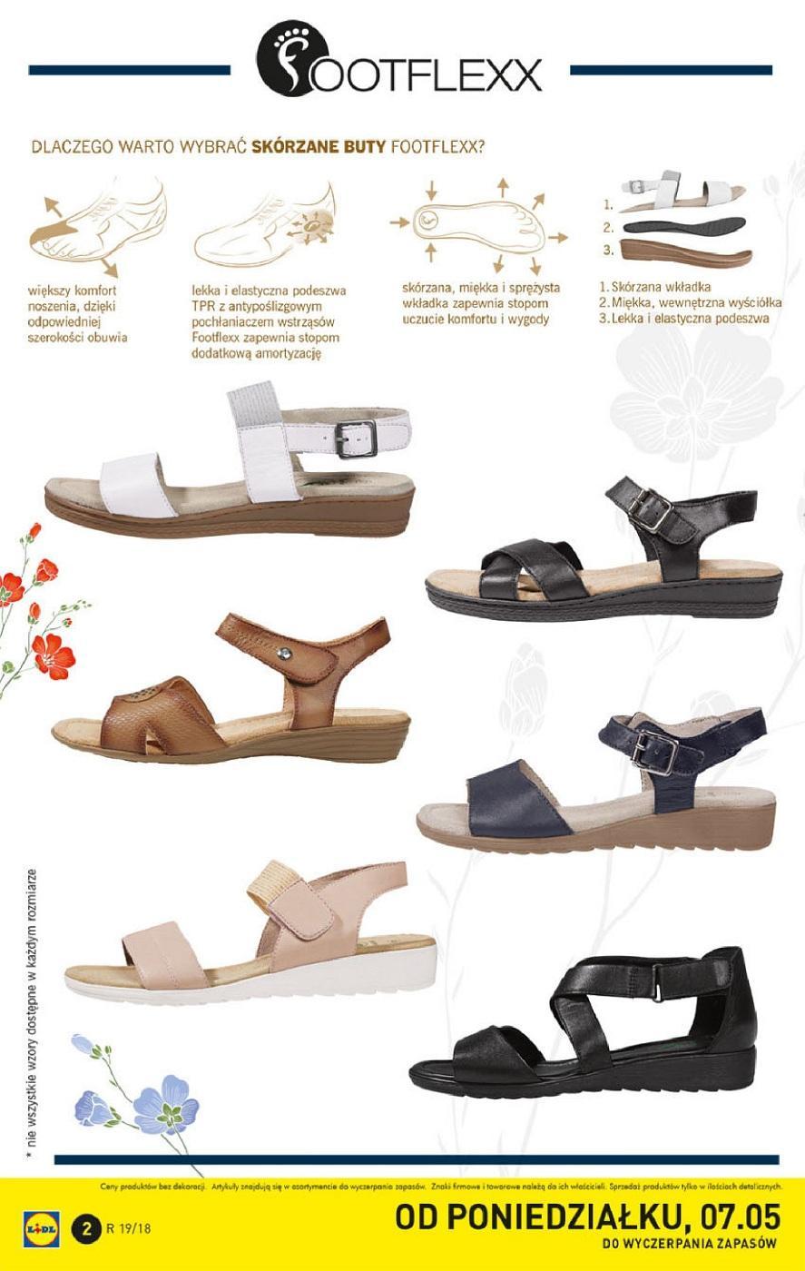 lidl buty skórzane sandały damskie