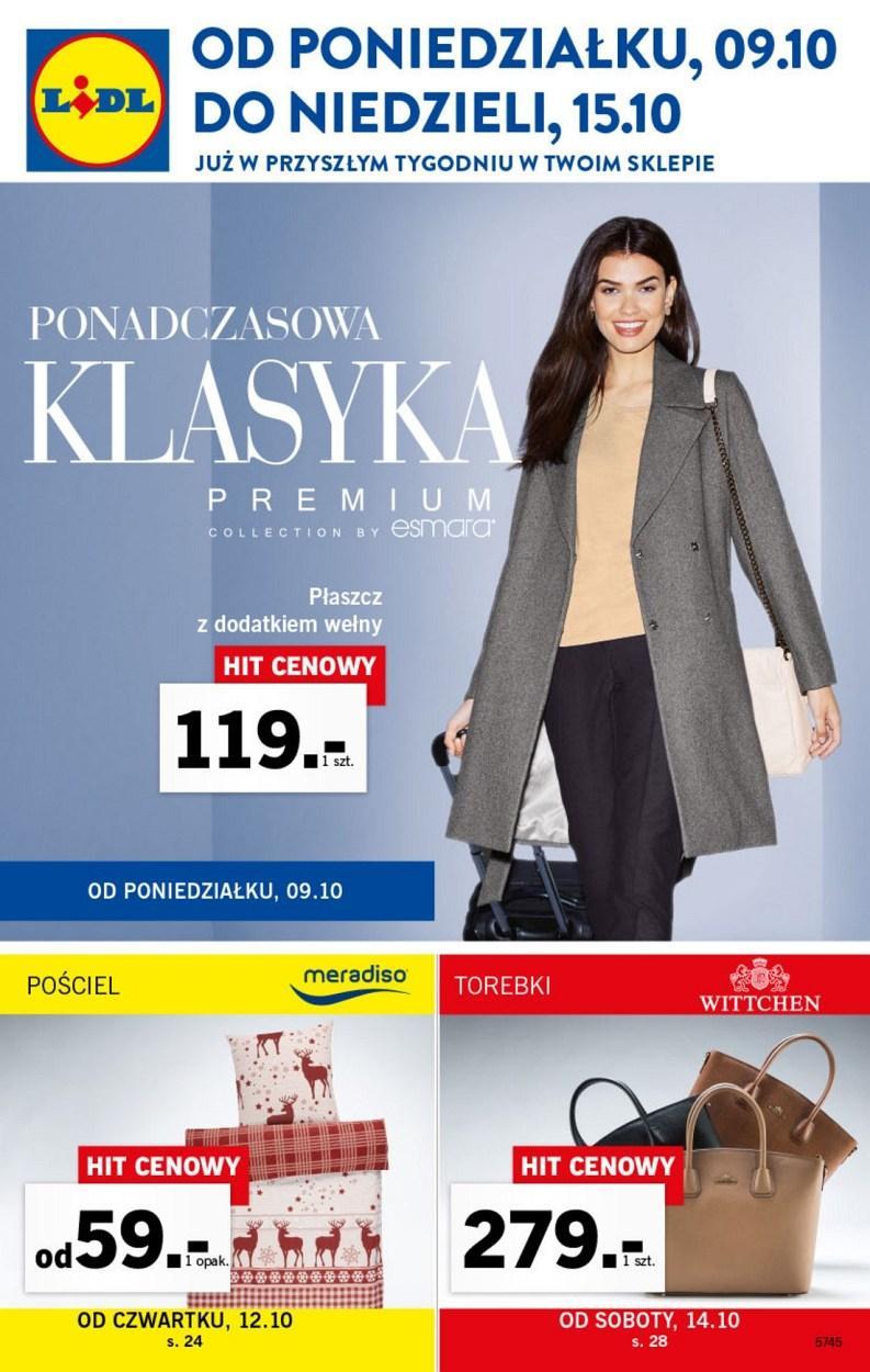 Gazetka promocyjna Lidl do 15/10/2017 str.0