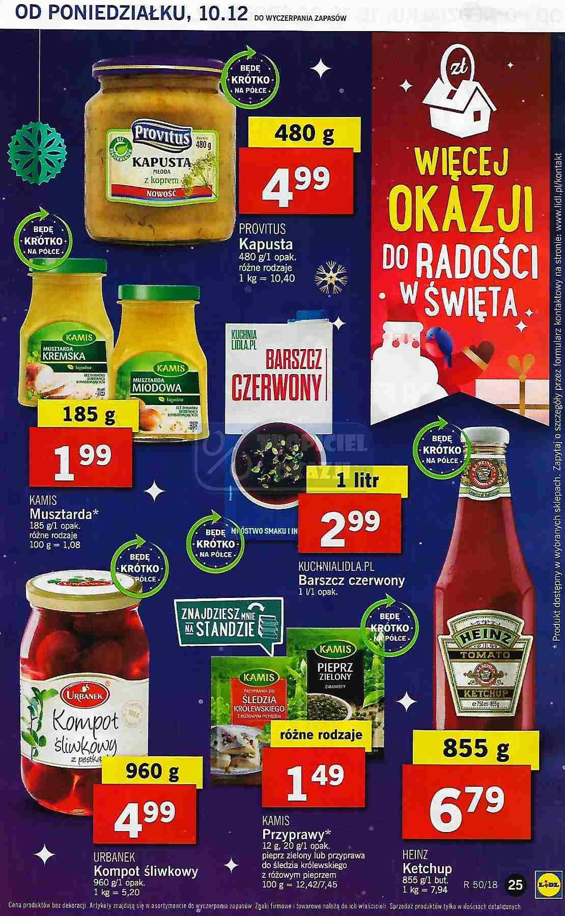 Gazetka promocyjna Lidl do 12/12/2018 str.25