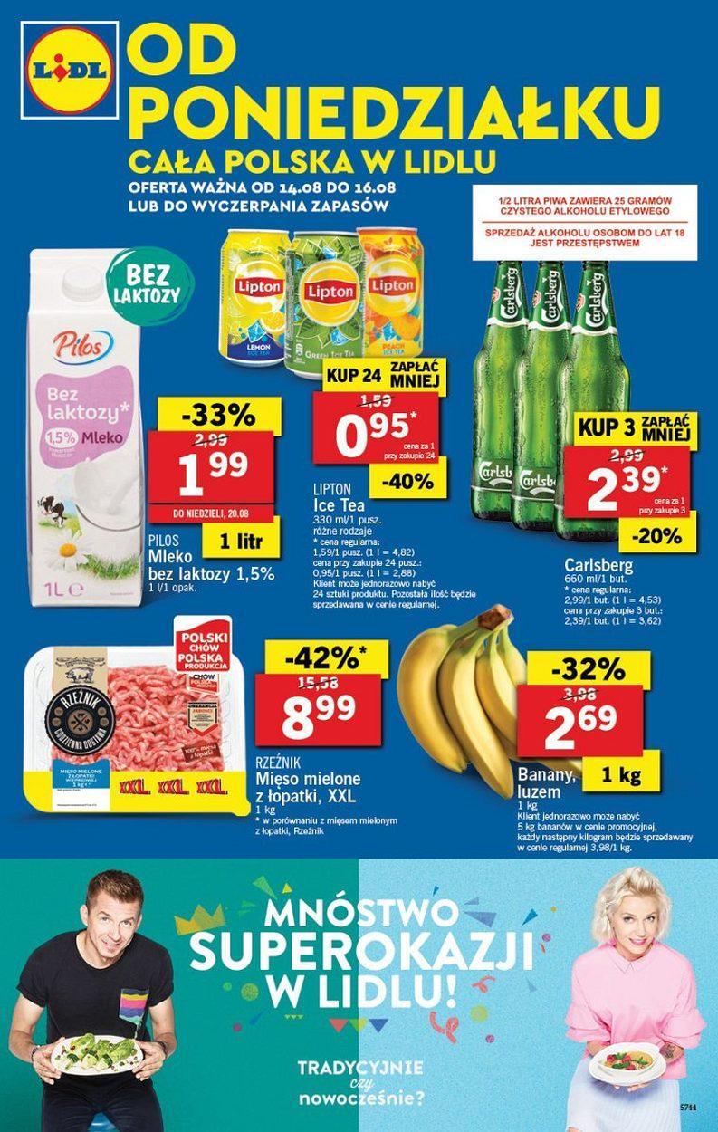 Gazetka promocyjna Lidl do 16/08/2017 str.0