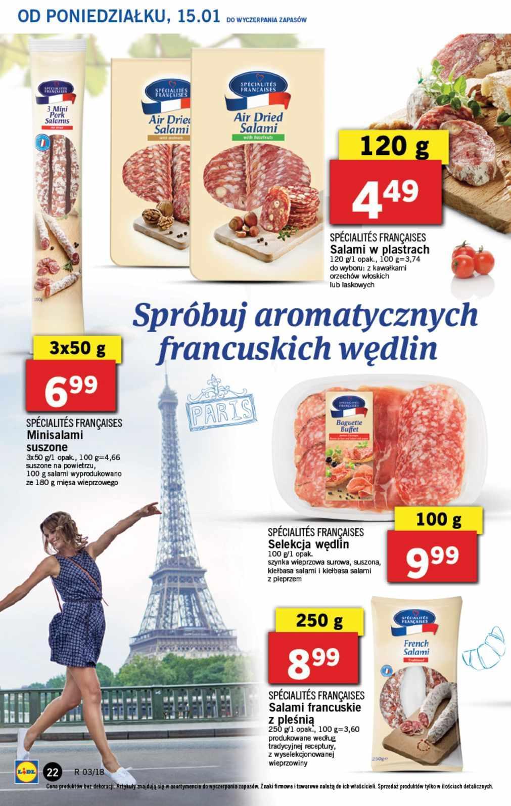 Gazetka promocyjna Lidl do 17/01/2018 str.21