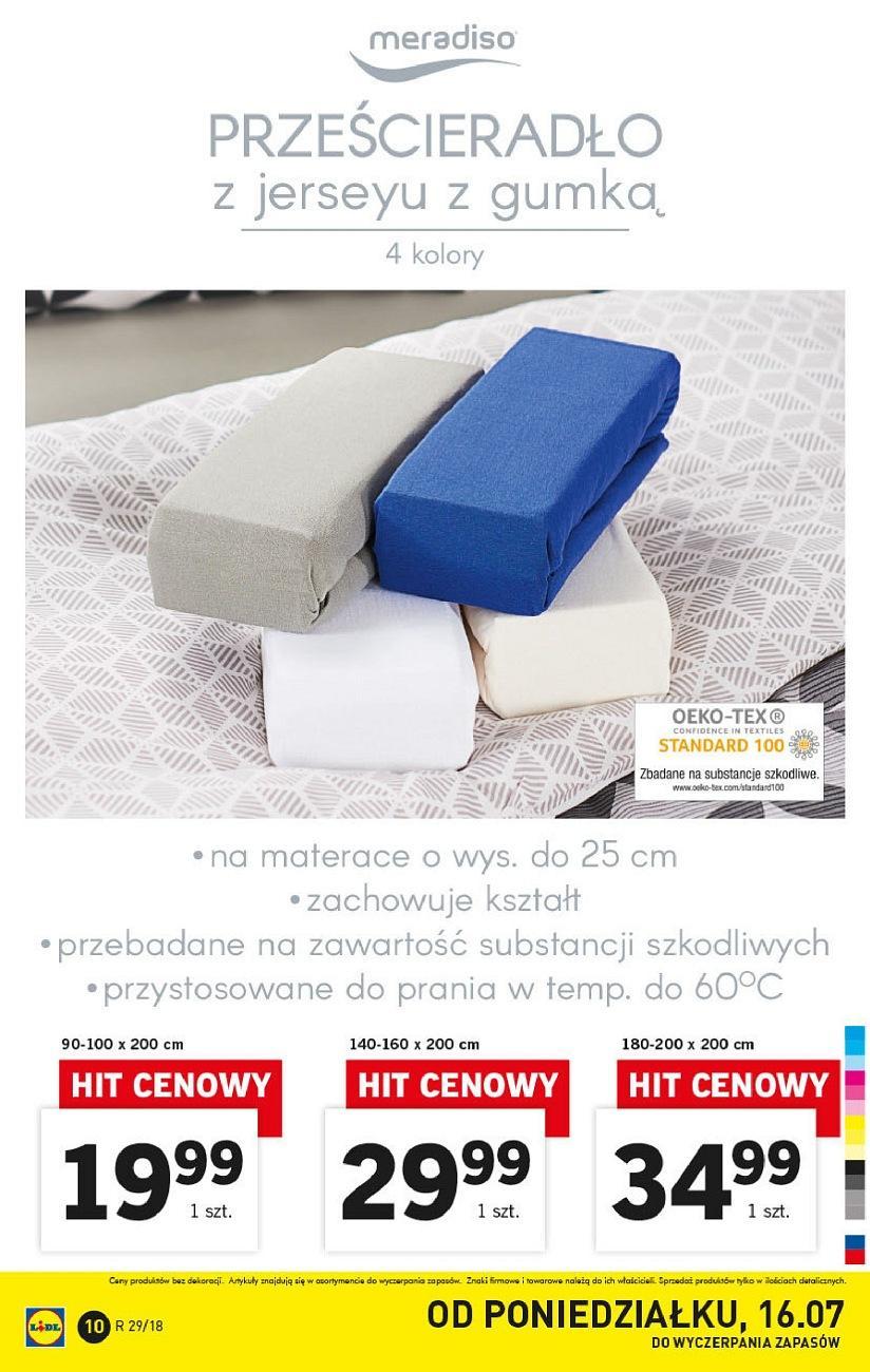 Gazetka promocyjna Lidl do 21/07/2018 str.10
