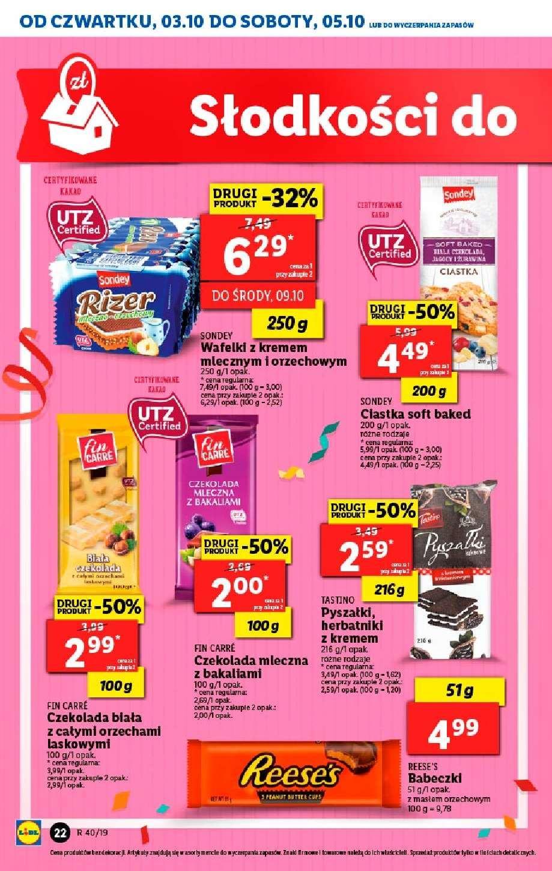 Gazetka promocyjna Lidl do 05/10/2019 str.21