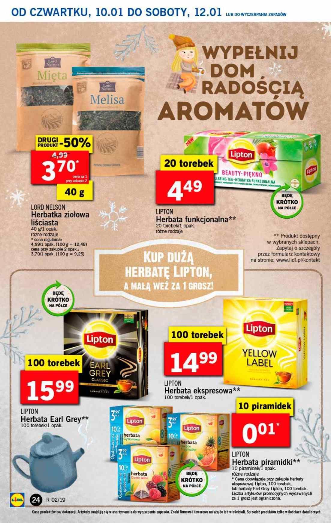 Gazetka promocyjna Lidl do 12/01/2019 str.24