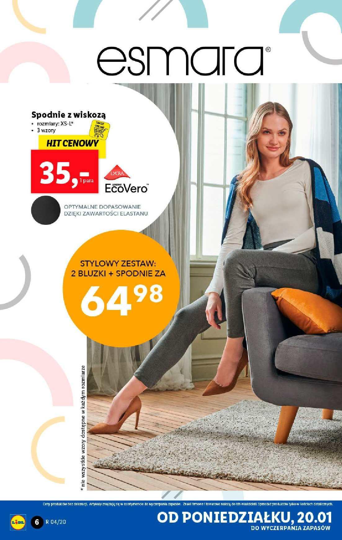 Gazetka promocyjna Lidl do 26/01/2020 str.6