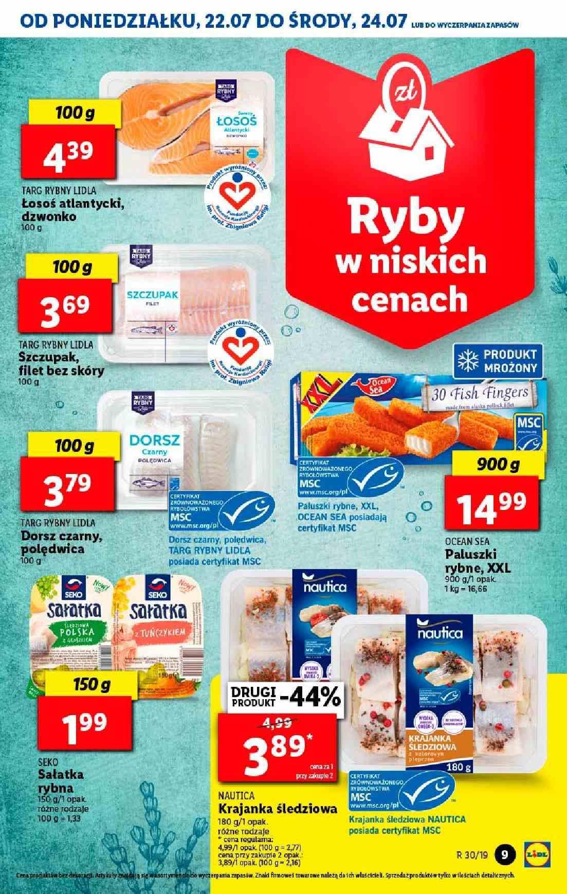 Gazetka promocyjna Lidl do 24/07/2019 str.9
