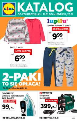 Lidl gazetka - od 21/01/2019 do 27/01/2019
