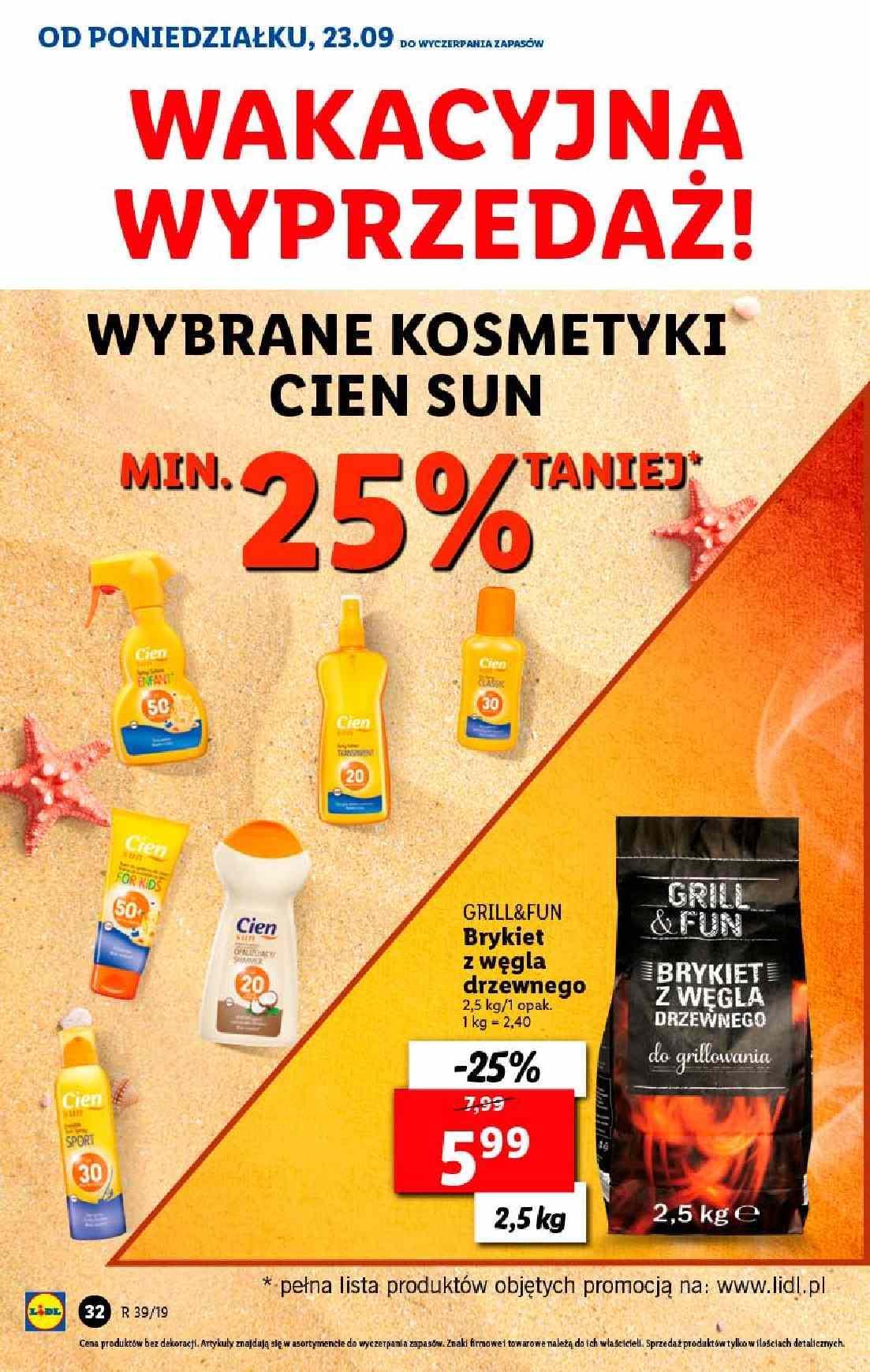 Gazetka promocyjna Lidl do 25/09/2019 str.32