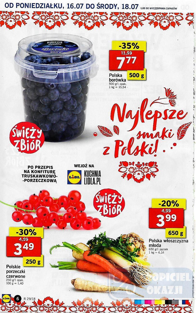 Gazetka promocyjna Lidl do 18/07/2018 str.6