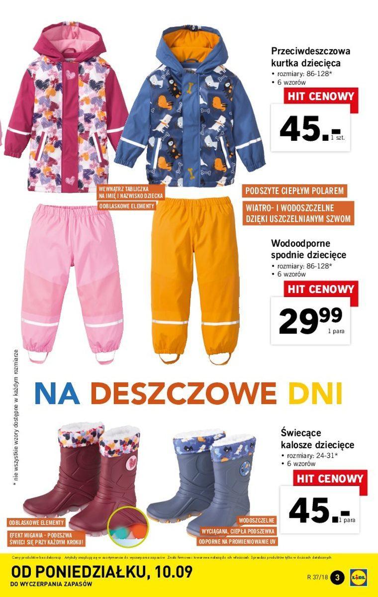 Gazetka Promocyjna I Reklamowa Lidl Lidl Katalog 10092018 Od
