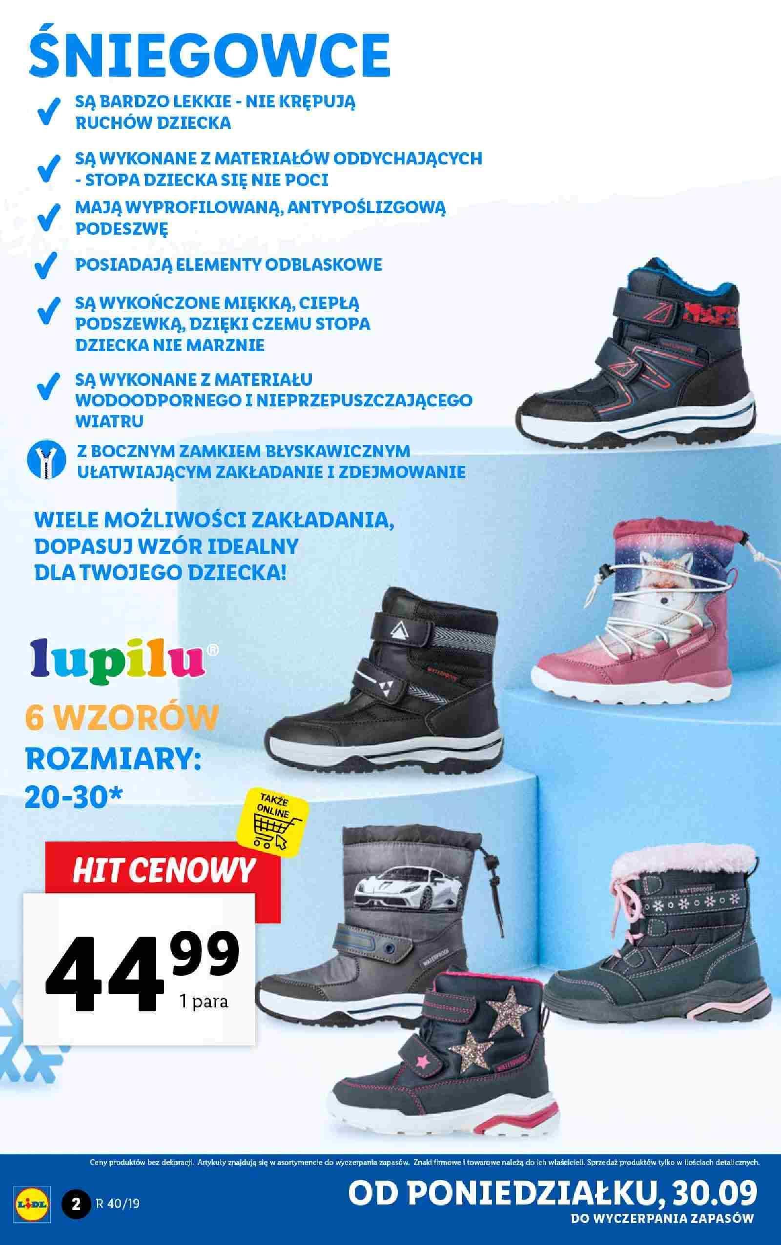 Gazetka promocyjna Lidl do 05/10/2019 str.1