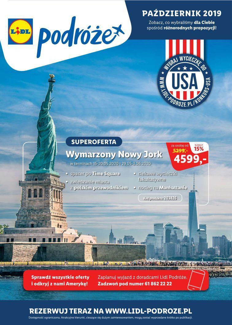 Gazetka promocyjna Lidl do 16/11/2019 str.1