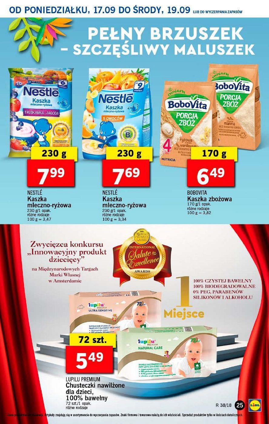 Gazetka promocyjna Lidl do 19/09/2018 str.25