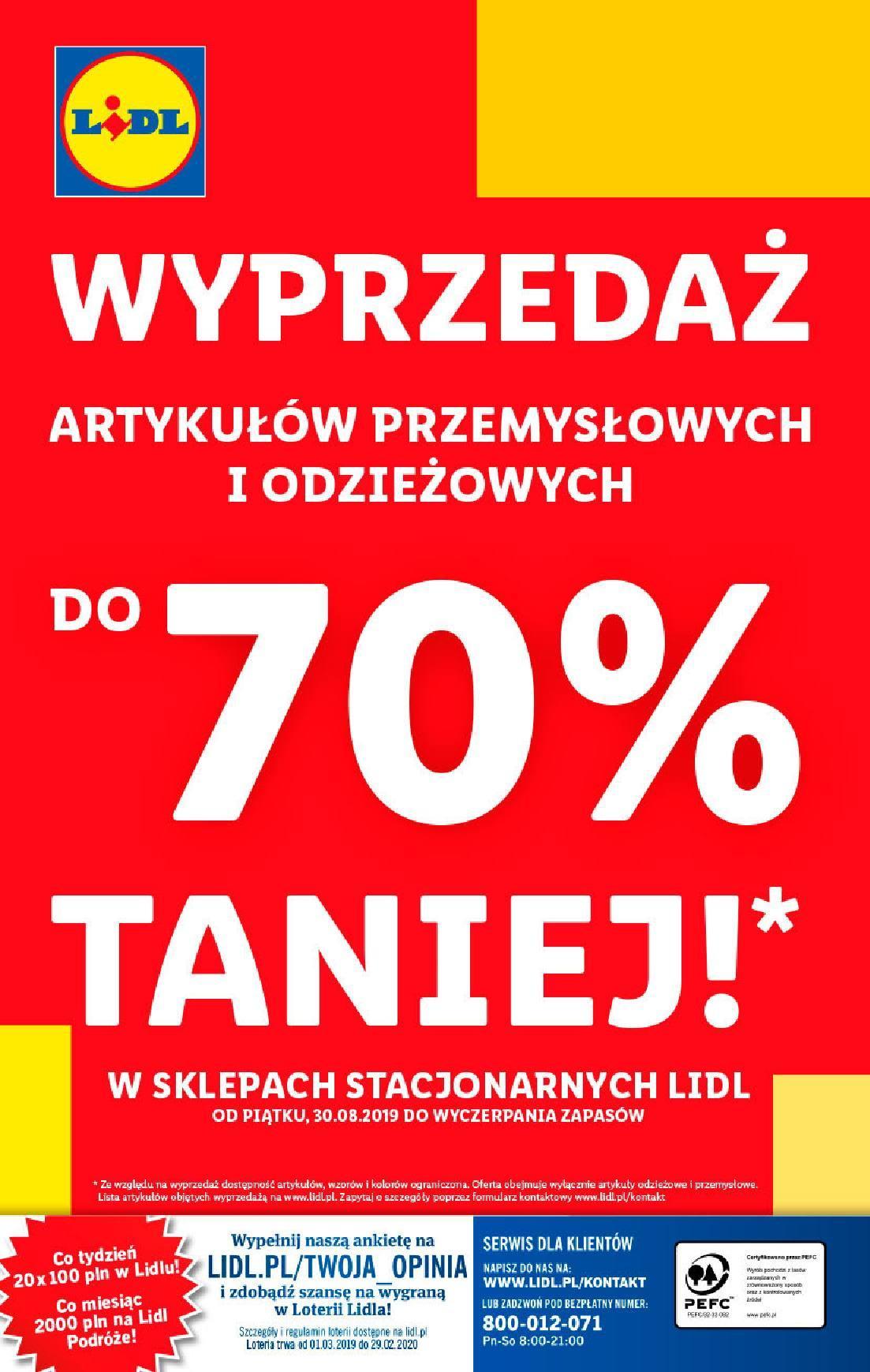 Gazetka promocyjna Lidl do 31/08/2019 str.39