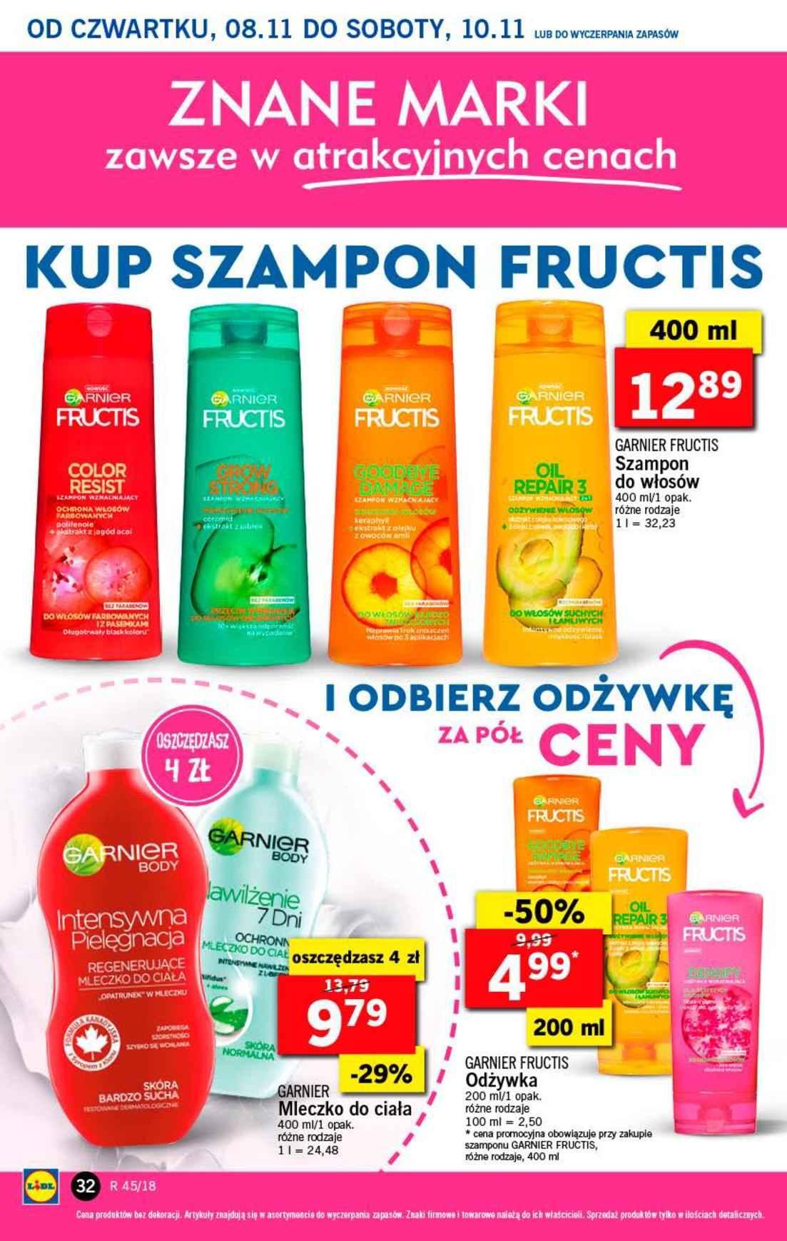 Gazetka promocyjna Lidl do 10/11/2018 str.32