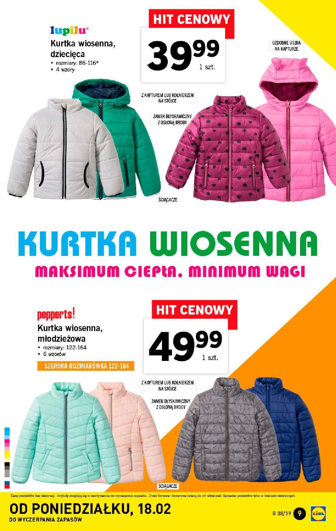 Gazetka promocyjna Lidl do 24/02/2019 str.9