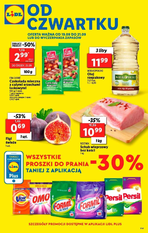 Gazetka promocyjna Lidl do 22/09/2019 str.0