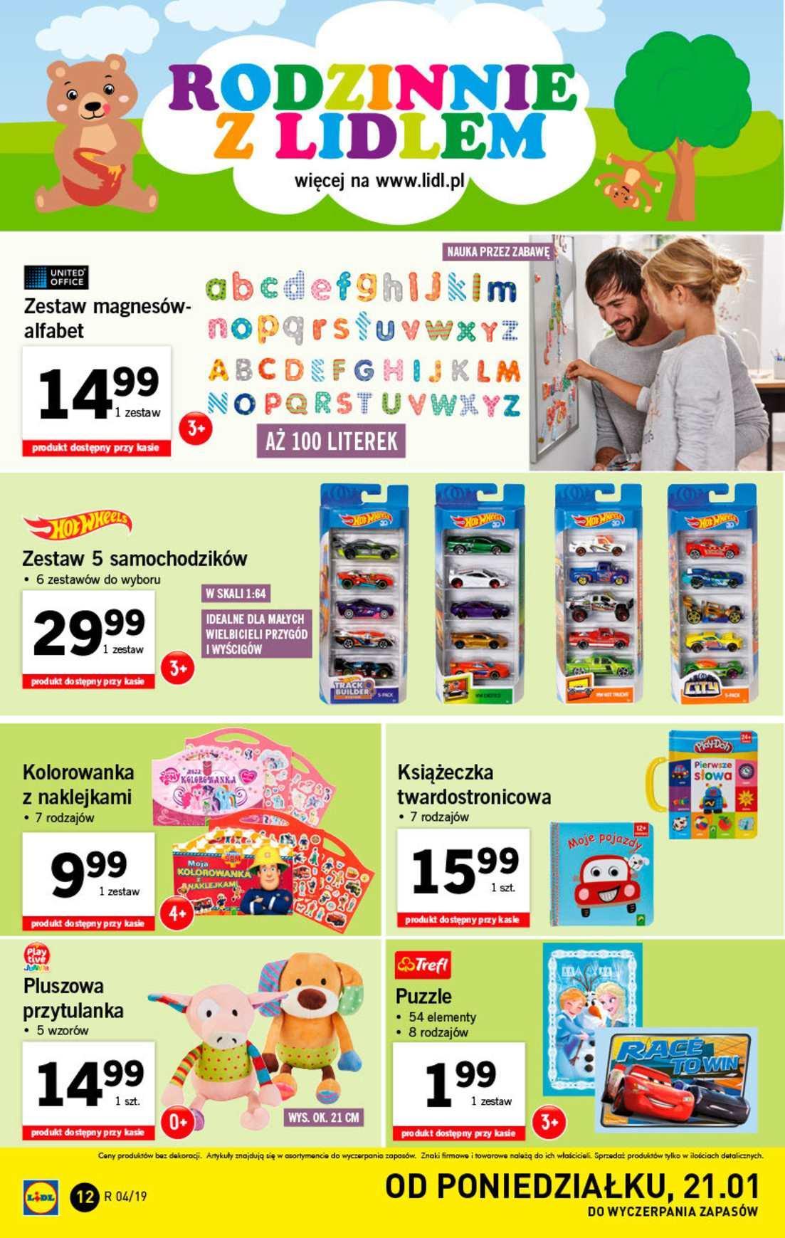 Gazetka promocyjna Lidl do 27/01/2019 str.12