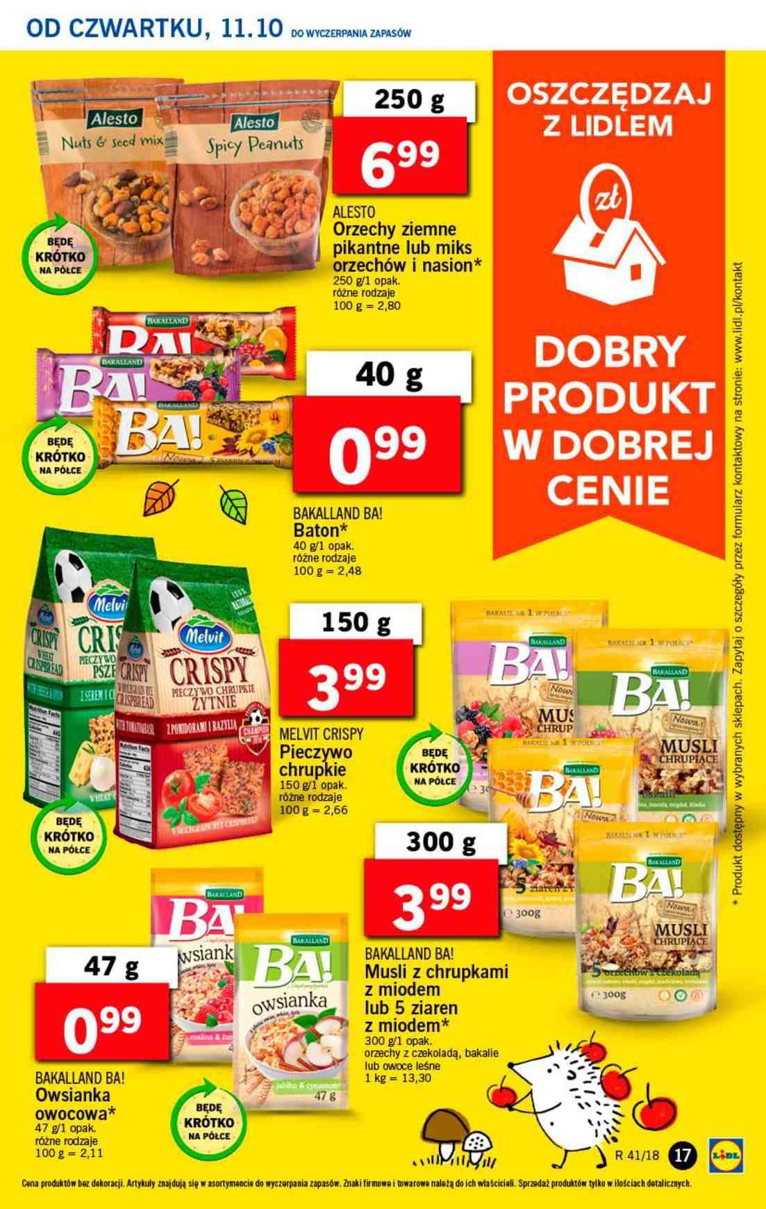 Gazetka promocyjna Lidl do 13/10/2018 str.16