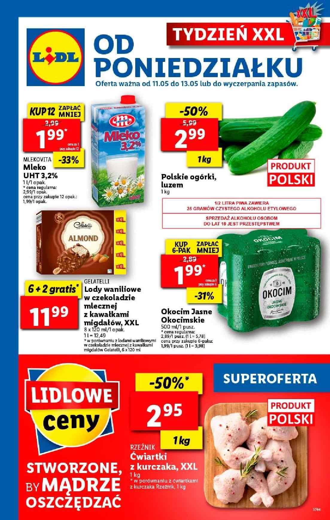 Gazetka promocyjna Lidl do 13/05/2020 str.1