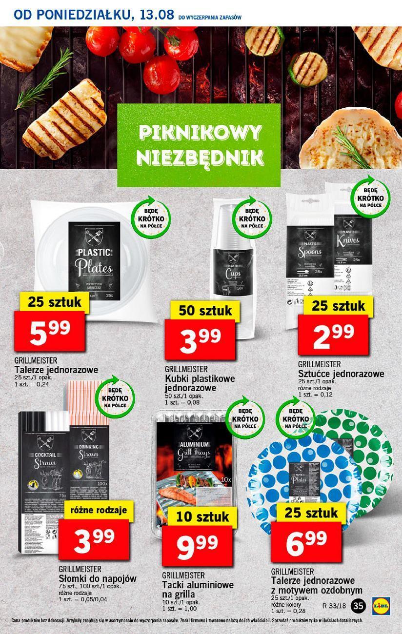 Gazetka promocyjna Lidl do 14/08/2018 str.35