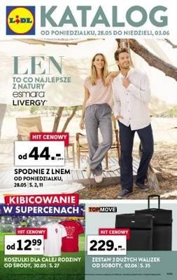 Lidl gazetka - od 28/05/2018 do 03/06/2018
