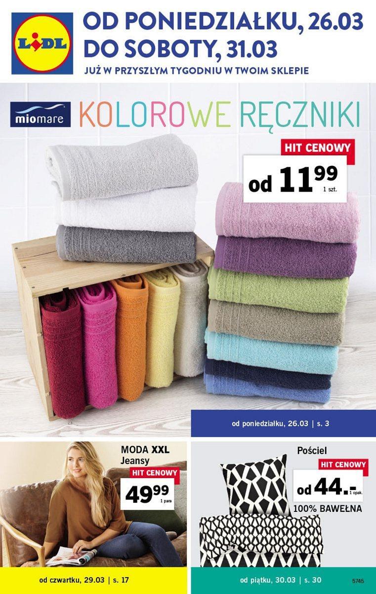Gazetka promocyjna Lidl do 31/03/2018 str.0