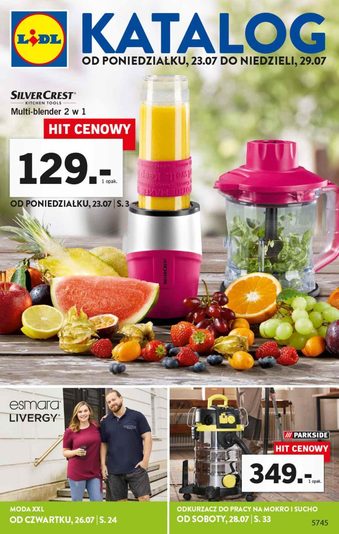 Gazetka promocyjna Lidl do 29/07/2018 str.1