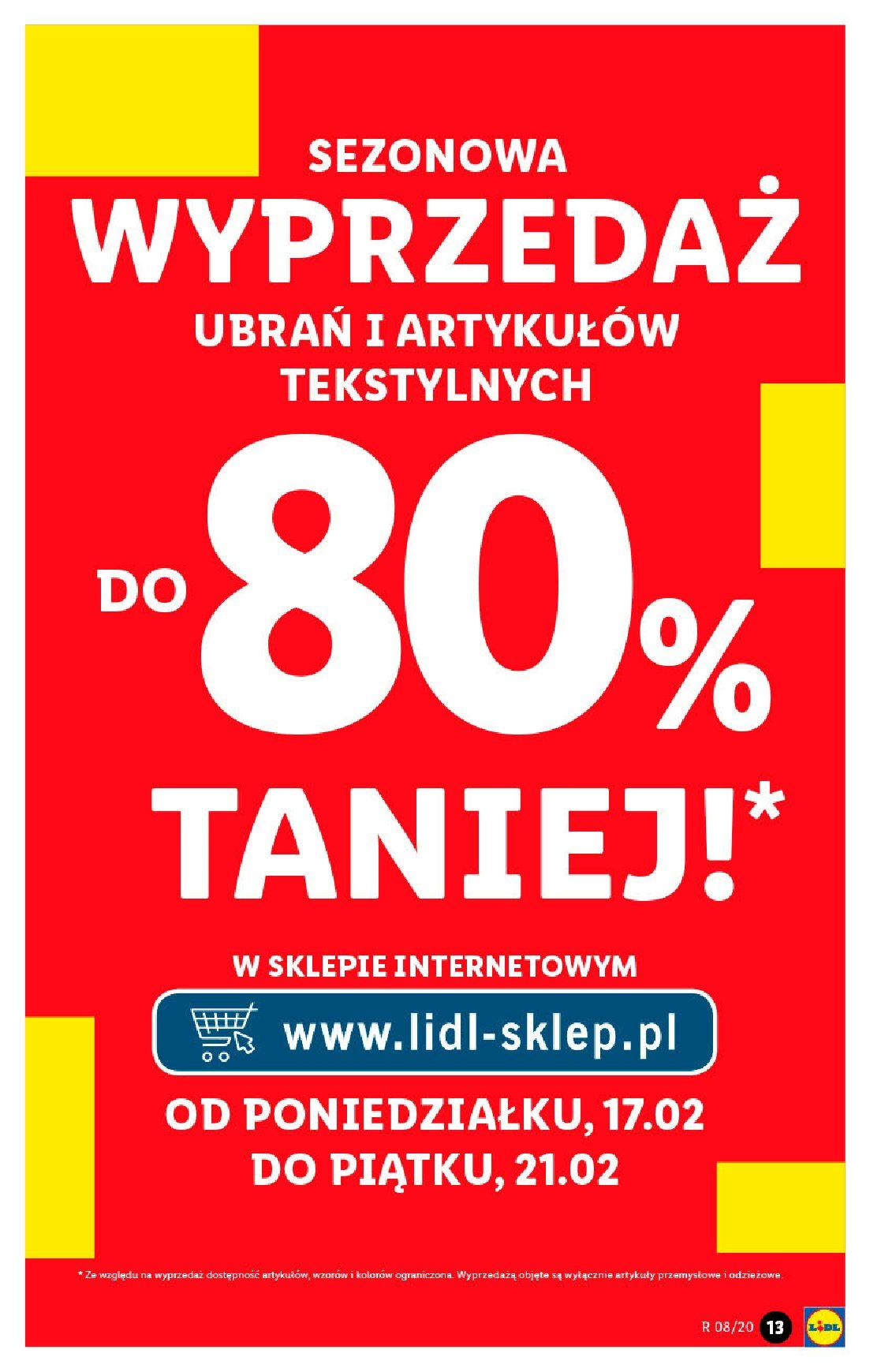 Gazetka promocyjna Lidl do 22/02/2020 str.13