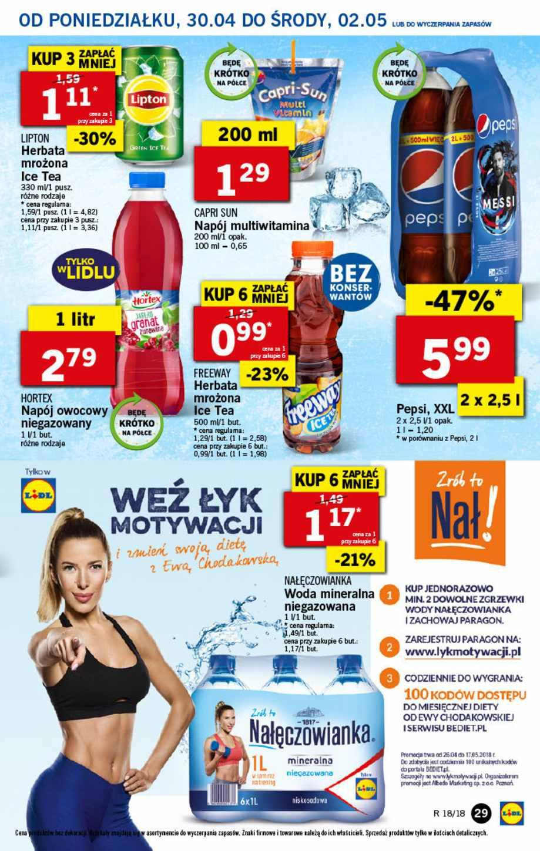 Gazetka promocyjna Lidl do 02/05/2018 str.28