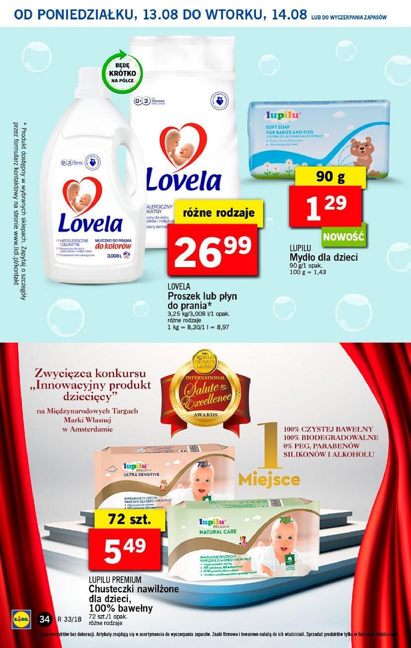 Gazetka promocyjna Lidl do 14/08/2018 str.33