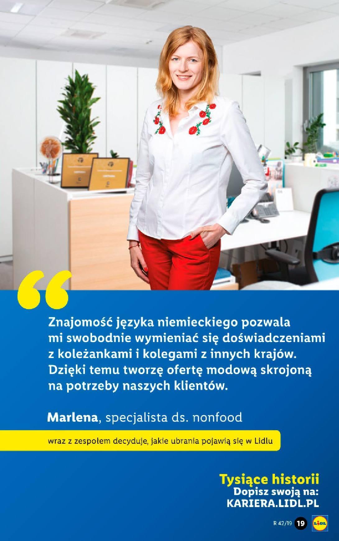 Gazetka promocyjna Lidl do 19/10/2019 str.19