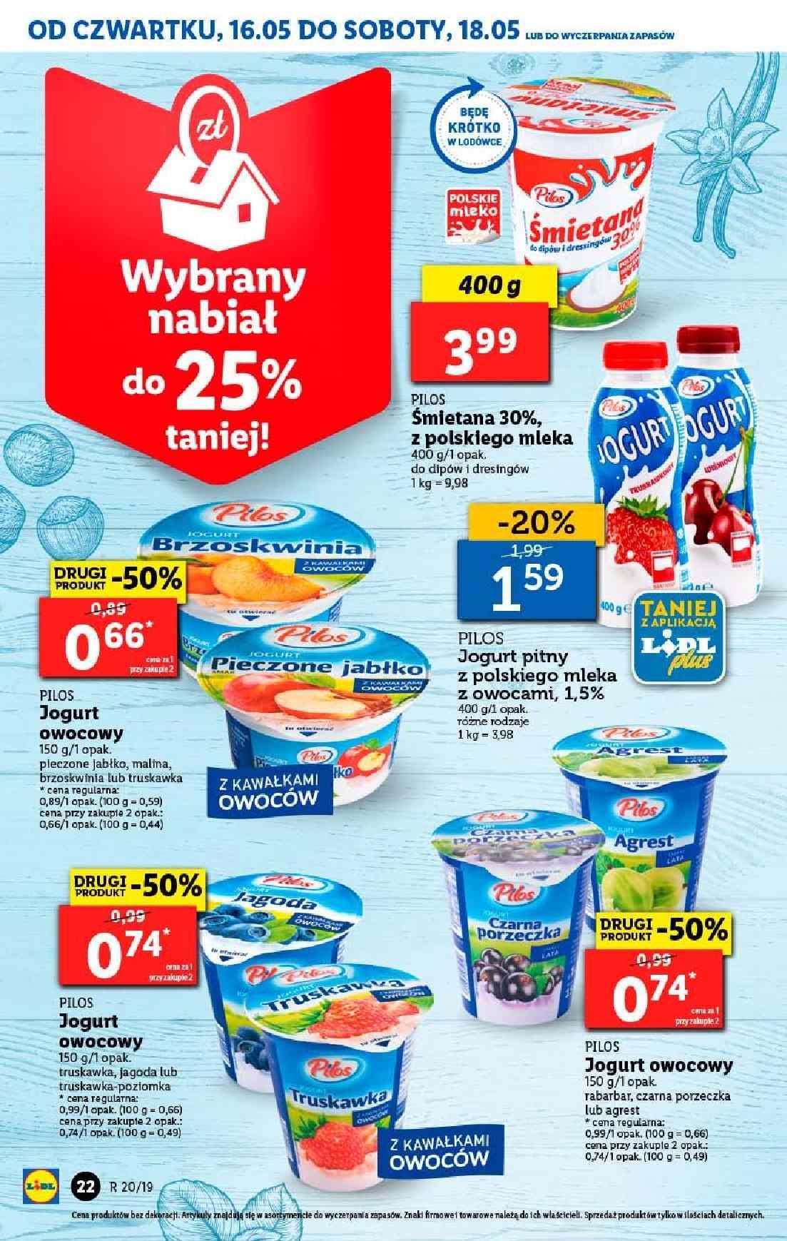 Gazetka promocyjna Lidl do 19/05/2019 str.22