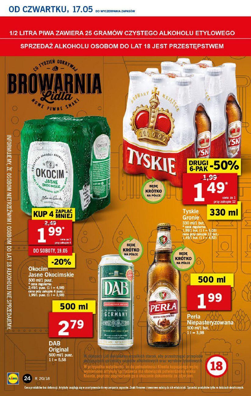 Gazetka promocyjna Lidl do 19/05/2018 str.24