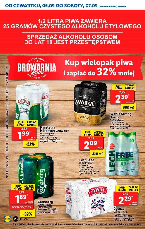 Gazetka promocyjna Lidl do 07/09/2019 str.25
